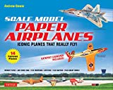 Scale Model Paper Airplanes Kit: Iconic Planes...