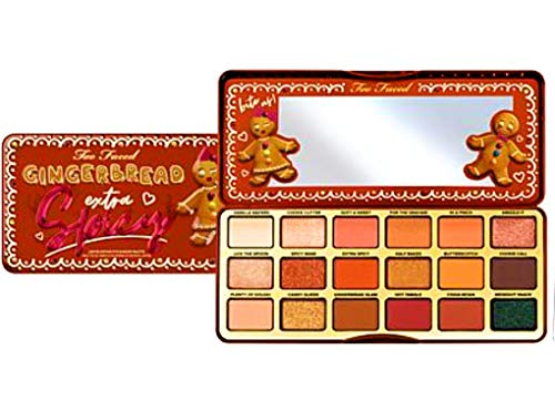 Too Faced Gingerbread Extra Spicy Eye Shadows Palette, a wonderful, gingerbread smell