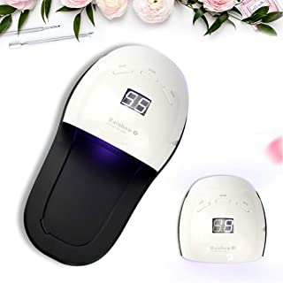 DINGYUFA Nail UV LED de luz de la lámpara de 48W máquina de la Terapia de inducción secador del Clavo para Curar Todas Las uñas del Gel de la lámpara Equipo