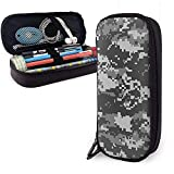 YOLOP Federmäppchen Camouflage Wallpapers Large Capacity Storage Marker Case Pen Holder,Cosmetic Makeup Bag,Stationery Organizer Pencil Pouch