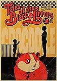 LGYJAL Vintage Classic Movie Black Mirror-BBC Poster Painting Retro Kraft Paper Poster Home Bar Decoración De La Pared Pegatinas 50X70 Cm (19.68X27.55 In) U-598