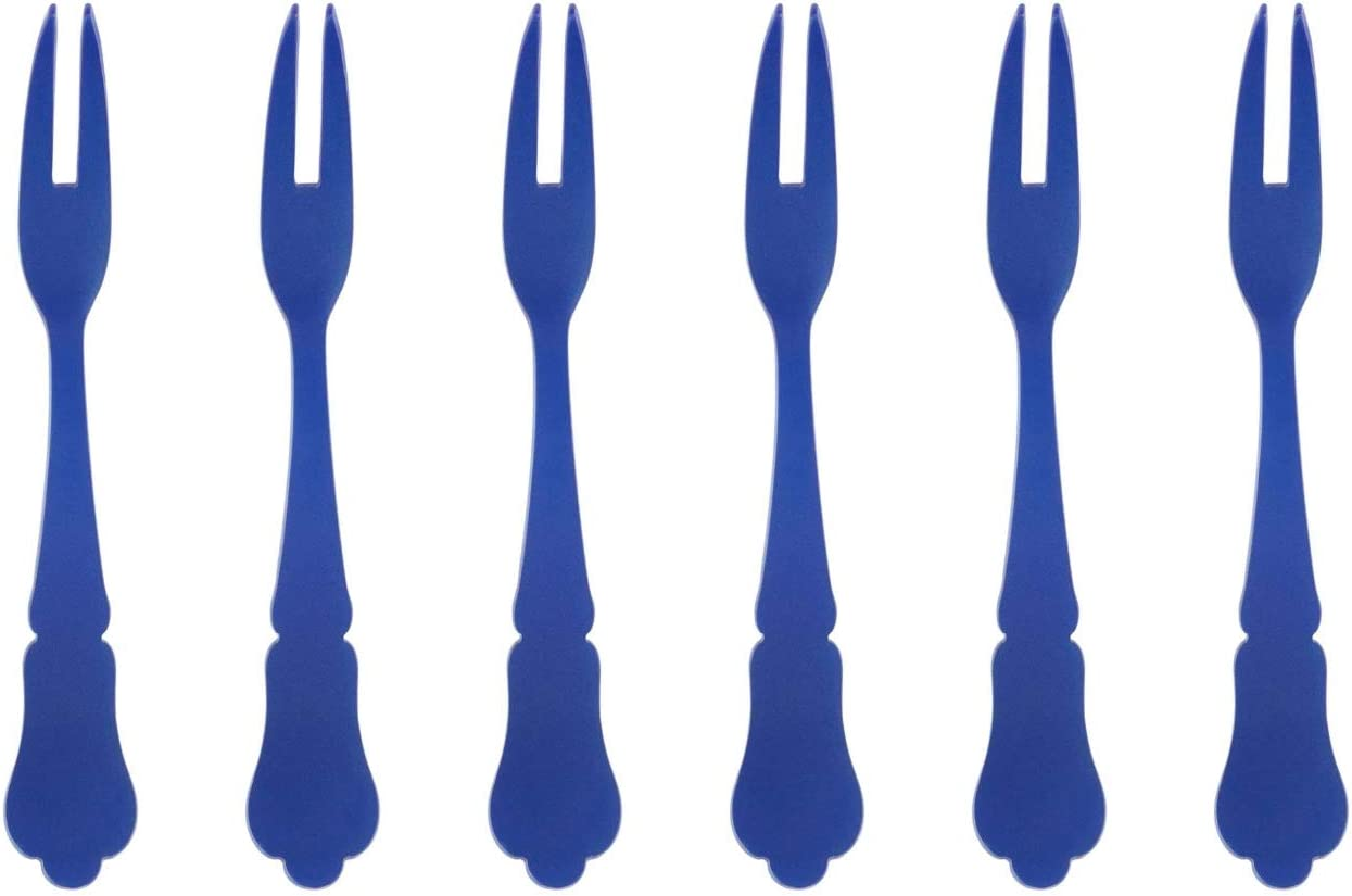 Sabre service Old Fashion Cocktail Beauty products Fork Blue Lapis 6-Piece Set