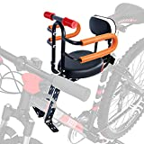XIEEIX Front Mount Child Bike Seats, Foldable Baby Kids'...