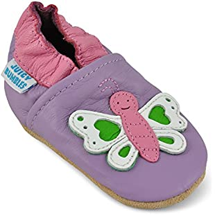 Juicy Bumbles Beautiful Soft Leather Baby Shoes with Suede Soles - Toddler Shoes - Infant Shoes - Pre Walker Shoes - Crib Shoes - Butterfly 12-18 Months:Isfreetorrent