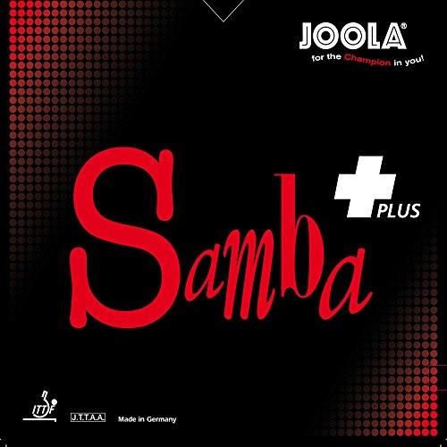 JOOLA Belag Samba Plus, rot, 1,8 mm