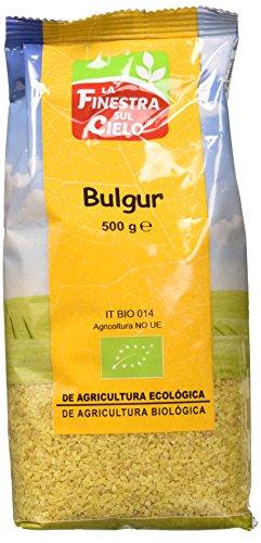 La Finestra Sul Cielo Bulgur integral BIO, envase compostable- La Finestra sul Cielo - 400g (Caja 6 uds - Total: 2400g)