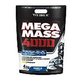 Weider Mega Mass 4000 Sabor Vainilla (4000 g). 69% de hidratos.Enriquecido con Vitaminas y...