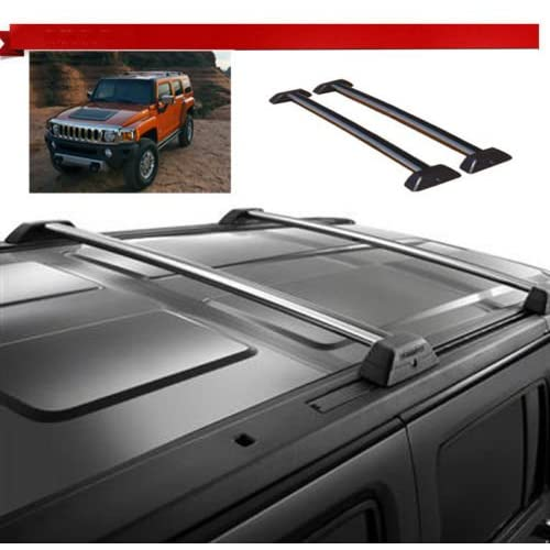 06 07 08 09 10 Hummer H3 OE Style Roof Rack Cross Bars Set W/