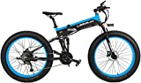 IMBM T750P 26 Pulgadas 1000W / 500W de Bicicletas de montaña Plegable, adopta...