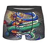 Dragón chino Noble Monster Chinoiserie - Calzoncillos tipo bóxer para hombre
