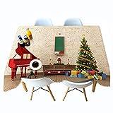 Shadow Decoración de Fiesta de cumpleaños Luces de Mantel Impresas en 3D de Navidad Mantel Personalizado de árbol de Navidad Mantel Colgante Personalizado 140x200cm