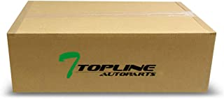 Topline Autopart Matte Black Aluminum Gas Door Cover With...