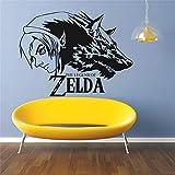 wopiaol Die Legende von Zelda Games Wandaufkleber Wolf Link