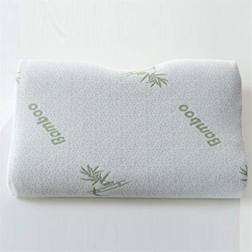 Espuma de memoria ortopédica cuello suave almohada masajeador fibra rebote lento espuma viaje almohada cervical cuidado de la salud