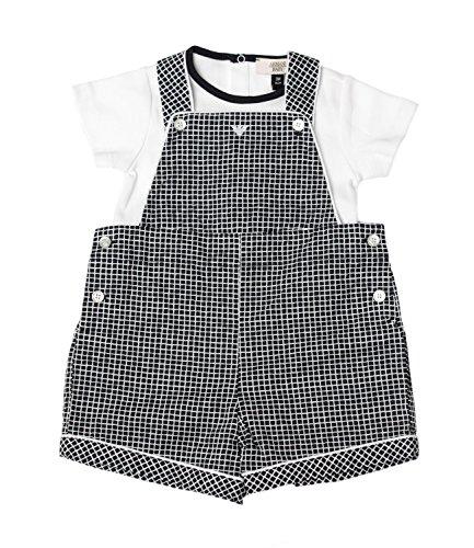 Emporio Armani Junior Set Salopette e t-shirt Bambino Baby Boy Mod. 3YHV04