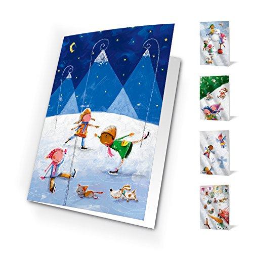 Unicef XR16011188 Grußkarten, Motiv One World, 10 Stück