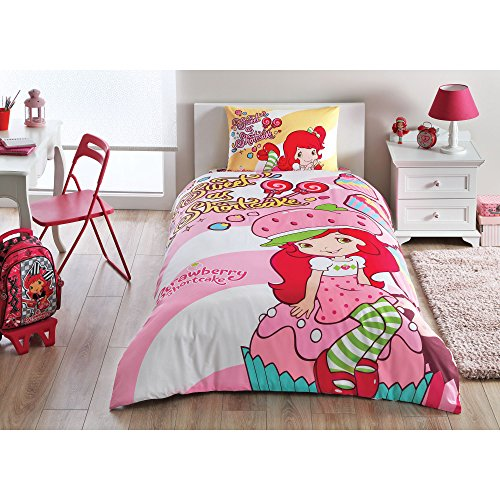 TAC Strawberry Shortcake Cute Duvet Cover Set Licenced Product…