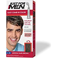 Just For Men Medium-Dark Brown Easy Comb-In Color with Comb Applicator