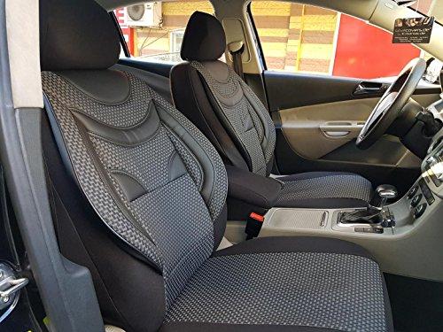 seatcovers by k-maniac Land Rover Freelander, 2 Fundas universales para Asientos Delanteros de Coche