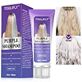 Best Shampoo For Grey Hairs - Purple Shampoo, Purple Shampoo for Blonde Hair, Bleached Review