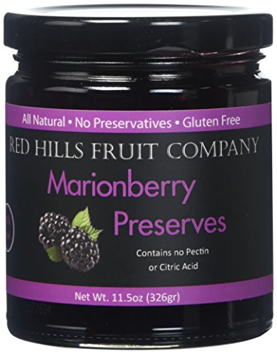 Red Hills Fruit Company Preserves, Marionberry, 4 Count