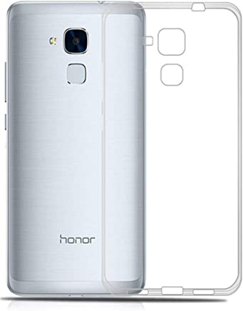 Huawei Honor 5C (GT3- GR5 MINI-HONOR 7 LITE) TPU Silicone Clear Case Back Cover By Muzz
