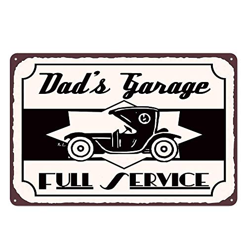BIT TINBG Dad'S Shed New Sign Plaque Poster Wall Vintage Art Sign Use Anywhere 20x30cm