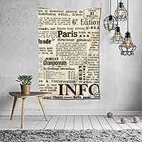 英語 国際 タペストリー 壁掛け インテリア 多機能壁掛け ファブリック装飾用品 模様替え 部屋 窓カーテン 個性ギフト 新居祝い 152cmx102cm