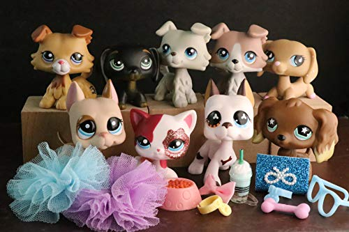 USALPS lps Rare Figures 9pcs with lps Accessories lot lps Cat ans Dogs 9pcs 2452 363 67 577 1647 893 2291 325 909 Kids Gift