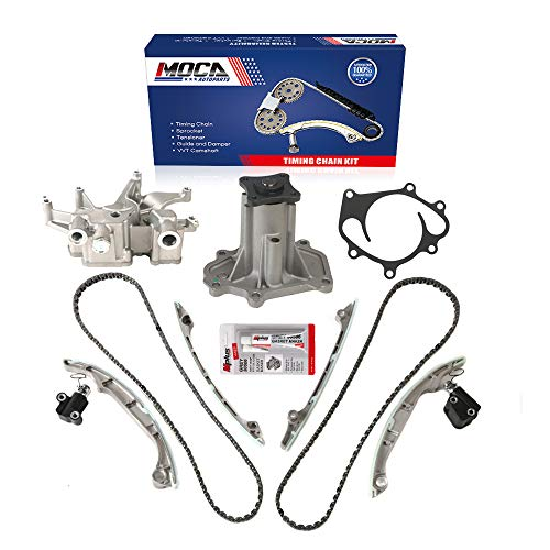 MOCA Timing Chain Oil Pump Water Pump Kit for 2009-2004 Infiniti Qx56 & for NISSAN Armada Titan & for NISSAN Pathfinder 5.6L V8 DOHC VK56DE Engine Code