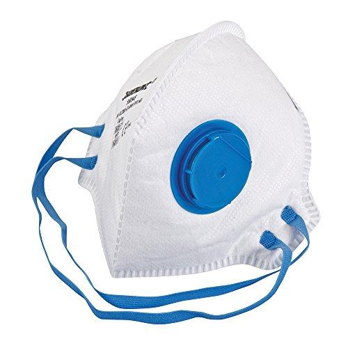 Silverline 568946Faltbare Atemschutzmaske mit Ventil FFP2NR (FFP2NR)
