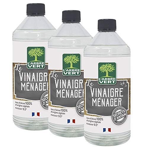 L'arbre vert Vinaigre Ménager - Lot de 3