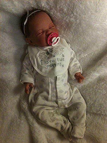 Kinder Reborn Baby mädchen Puppe, 48,3  lang, Neugeborene,, real, eingeschlafen, schwere, UK Verk er