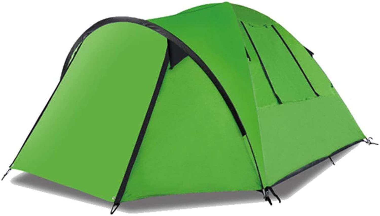 屋外テント、紫外線保護キャンプテント、防水、耐久性、通気性、防蚊、航空アルミポール