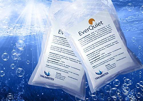 Traumreiter 2X Bubble Ex Luftbinder Everquiet 400 g Wasserbett Entlüfter Bubble Stop Konditionierer gegen Luft im Wasserbett
