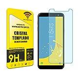 actecom® Protector Pantalla Cristal Templado Compatible con Samsung Galaxy J6 2018
