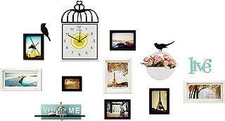 Ouqian Marco del Collage Foto Sencilla Europea Estilo de Pintura Colgar de la Pared del Marco de Fotos Marco Creativo Livi...