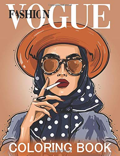 Vogue Fashion Coloring Book