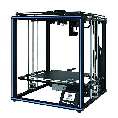 Stampante 3D Resina X5SA-400 PRO Titan Extruder,Stampante 3d 400 mm x 400 mm x 400 mm, Auto-livellamento, 3.5 pollici Touch screen, Ultra Silenzioso,Fai da te