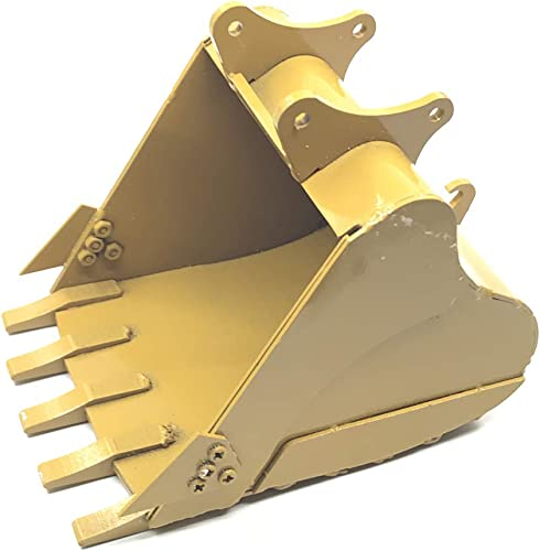 KINGGDUO Metall-580 Simulation Eimer Für Huina 583 6 Kanal 1 18 Rc Metal Bulldozer Laden Rc Auto Teile