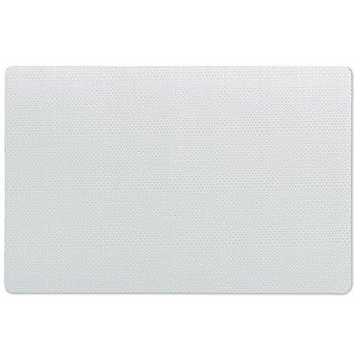 Kela 11632 Calina Set de table Plastique Blanc 43,5 x 28,5 x 1 cm