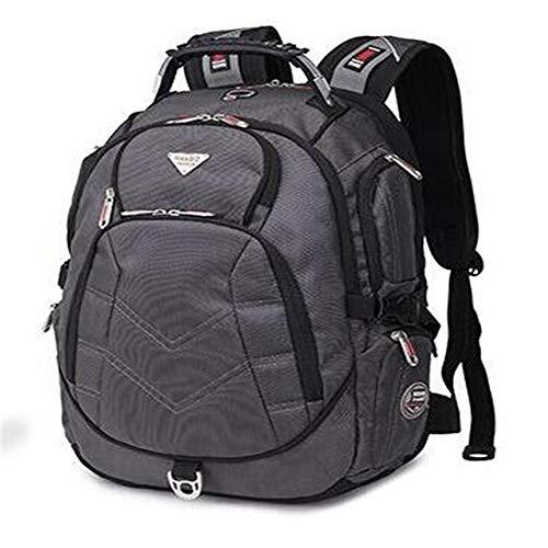18,4 Pulgadas Laptop Backpack Cabe hasta 18 Pulgadas Gaming Laptops para,Grey,17 Pulgadas