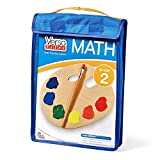 hand2mind 85412 VersaTiles Math Practice Take Along Set (Grade 2), Allow Kids to Learn, Practice & Self-Check Essential Math Skills at Home, Independent Activities for Kids