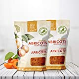 California Sun Dried Apricots, Slabs 350g. (Pack of 2)