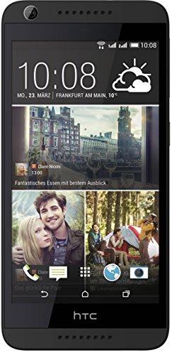 HTC Desire 626G Smartphone (12,7 cm (5 Zoll) Display, 8GB interner Speicher, Android 4.4 OS) Dunkegrau