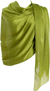 روسری زنانه Clann روسری 100٪ ابریشمی سبک وزن مخصوص زنان