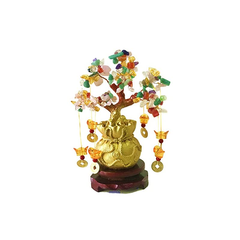 silk flower arrangements pan source feng shui citrine/citrine money tree and citrine tree, faucet crystal tree/chinese dragon fortune crystal tree/gift tree