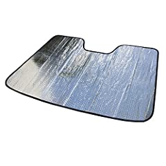 Custom-fit Sun Shade for 2014-2020 Lexus IS Sedan - MADE IN USA!! High quality and durable sun shade to maintain your car interior temperature, so your vehicle's seats stay cool, and without getting your hands burned on steering wheel. Double Bubble ...