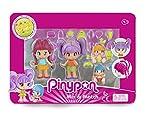Pinypon - Mini Bambole Pack con 4 Personaggi New Look, 700015571...
