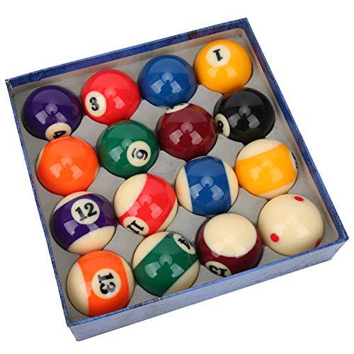 Juego de bolas de billar, 16 bolas de billar de tamaño reglamentario...